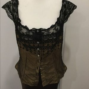 Ravage lace and silk-like camisole
